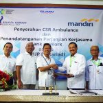 Bank Mandiri Gandeng RS Dr Kariadi Perluas Kerja Sama At Work