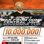 Lomba E-sport War From Home PUBG Siap Digelar